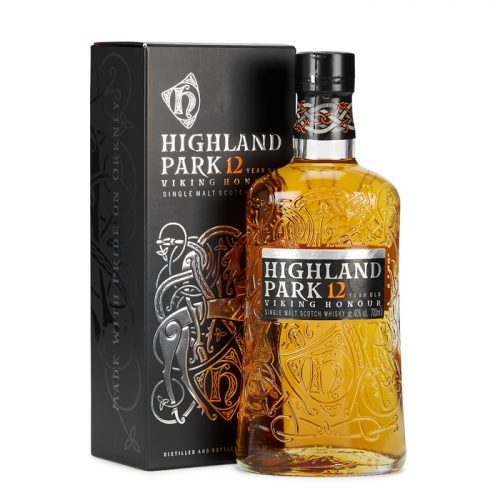 Highland Park 12 Year Old Viking Honour Single Malt Scotch Whisky