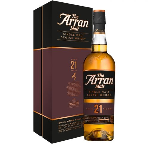 Isle Of Arran Distillers 21 Year Old Single Malt Scotch Whisky