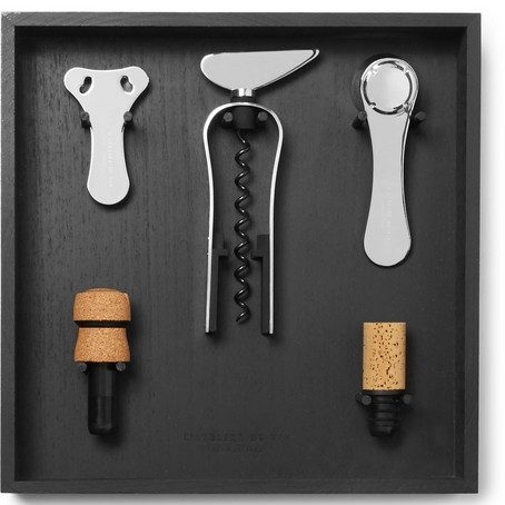 Mens L'Atelier du Vin Wine Tool Set And Rack in Black