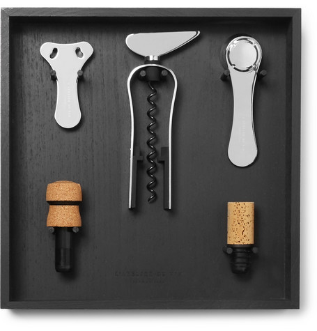 L'Atelier du Vin - Wine Tool Set And Rack - Black
