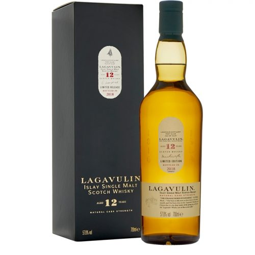 Lagavulin 12 Year Old Single Malt Scotch Whisky Special Release 2018