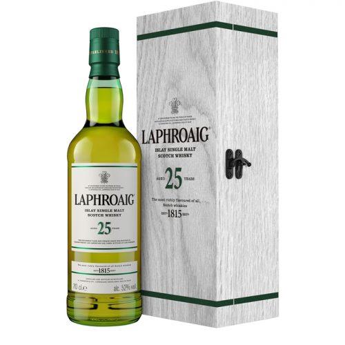 Laphroaig 25 Year Old Single Malt Scotch Whisky 2018 Release