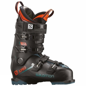 Salomon Mens X Pro 120 Ski Boots Black