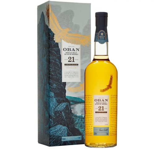 Oban 21 Year Old Single Malt Scotch Whisky Special Release 2018