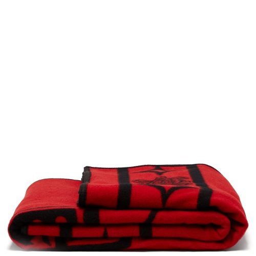 Pendleton - Raven Wool Blend Blanket - Red