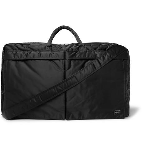 Porter-Yoshida & Co - Tanker 2way Boston Padded Shell Duffle Bag - Black