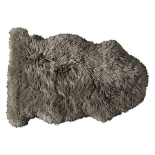 Sheepskin rug in beige 55 x 90cm
