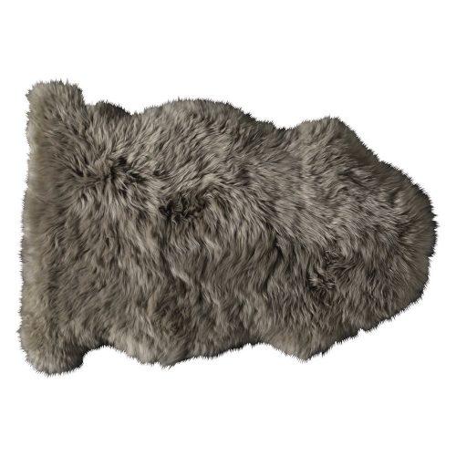 Sheepskin rug in beige 55 x 90cm