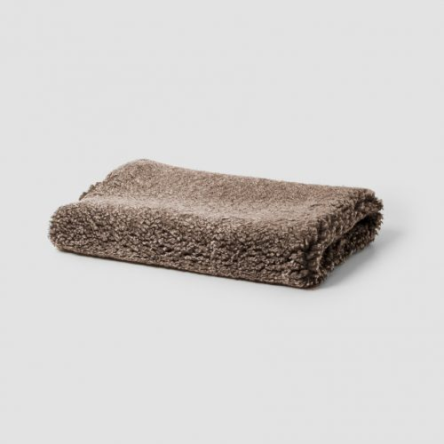 Natures Collection Short Wool Curly Sheepskin Rug