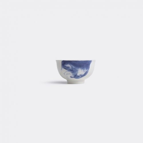 1882 Ltd Tea & Coffee - 'Indigo Storm' cup in Multicolor Earthenware