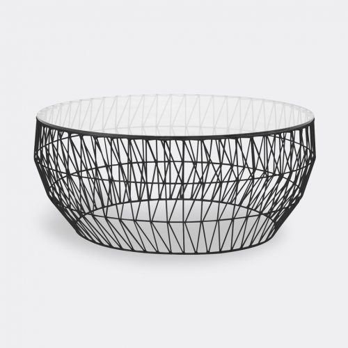 Bend Goods Furniture - 'Coffee Table' in Black Hot Dip Galvanized Iron - Powd