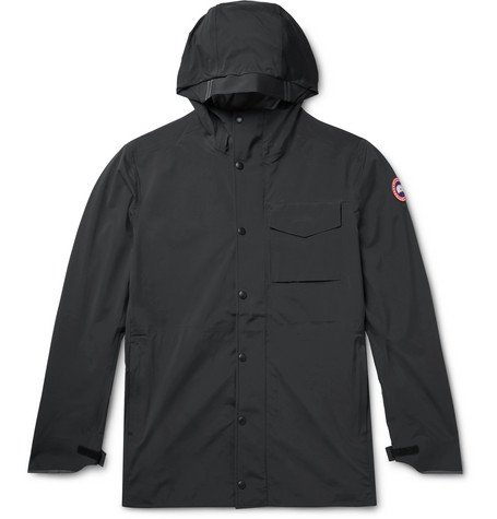 Canada Goose - Nanaimo Tri-durance Hooded Jacket - Black