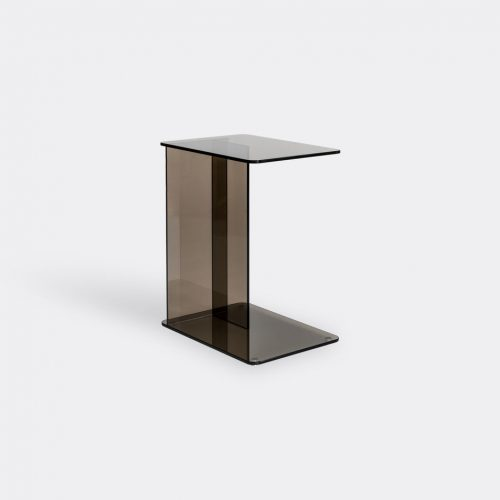 Case Furniture Furniture - 'Lucent' laptop table, bronze in Bronze Toughned Glass