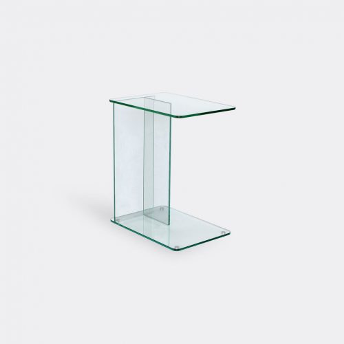 Case Furniture Furniture - 'Lucent' laptop table, clear in Clear Toughned Glass