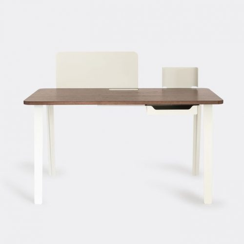 Case Furniture Furniture - 'Mantis' desk, walnut in Stained Walnut Wool