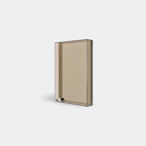 Case Furniture Mirrors & Clocks - 'Lucent' mirror, bronze in Bronze Toughned Glass