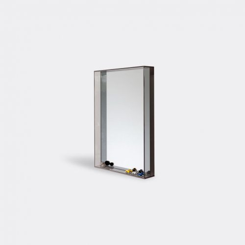 Case Furniture Mirrors & Clocks - 'Lucent' mirror, smoke in Smoke Toughned Glass