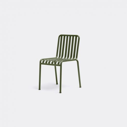 Hay Furniture - 'Palissade' chair in Olive Electro-galvanized powder coat