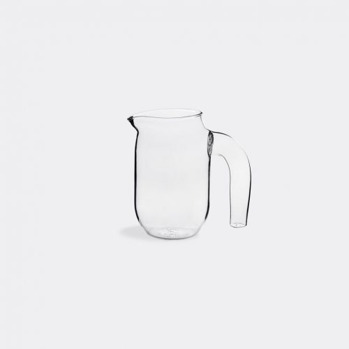 Hay Serving & Trays - Jug, small in Clear Borosilicate glass