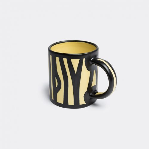 Hay Tea & Coffee - 'Wood' mug in Light yellow Earthenware