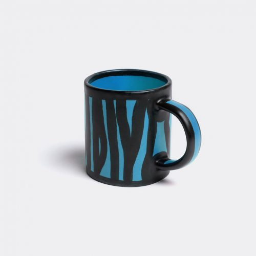 Hay Tea & Coffee - 'Wood' mug in Royal blue Earthenware
