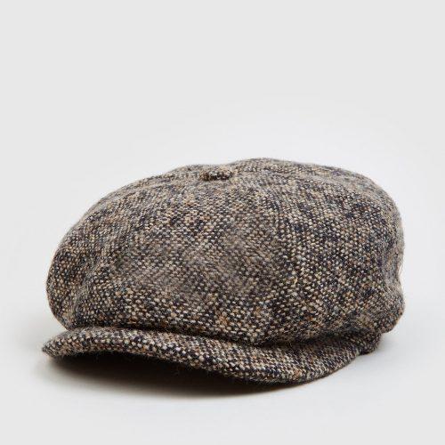 Stetson Hatteras Donegal Newsboy Cap - Brown Mix