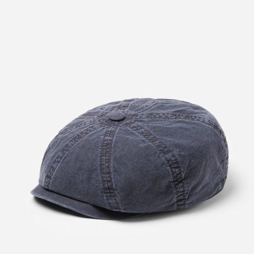 Stetson Hatteras Newsboy Cap (Cotton) - Blue