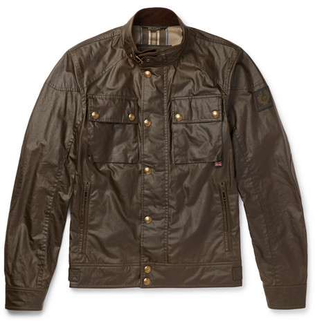 Belstaff - Racemaster Waxed-cotton Jacket - Brown