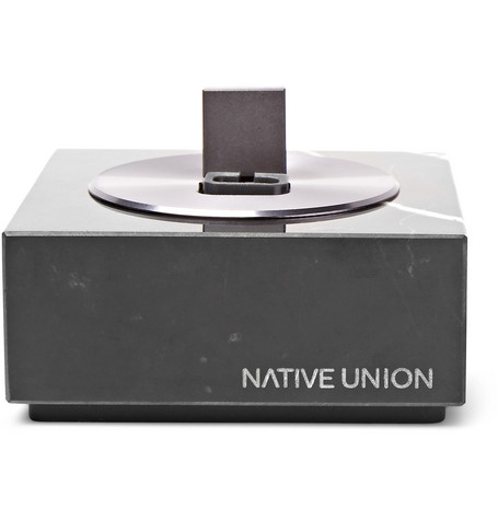 Native Union - Dock+ Lightning Marble Dock - Black