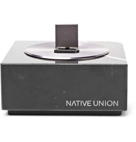 Native Union - Dock+ Lightning Marble Dock - Black