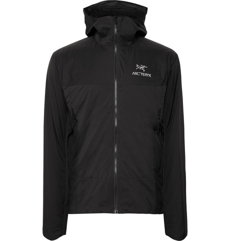 Arc'teryx - Atom Sl Slim-fit Padded Tyono And Stretch-jersey Hooded Jacket - Black