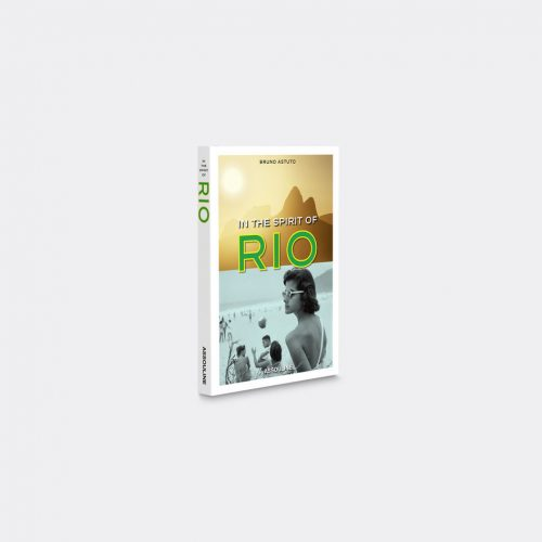 Assouline Books & City Guides - 'In the Spirit of Rio' in White, yelllow Paper