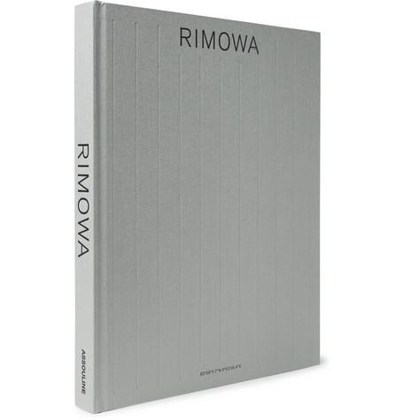 Assouline - Rimowa Hardcover Book - Gray