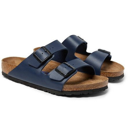 Birkenstock - Arizona Birko-flor Sandals - Navy