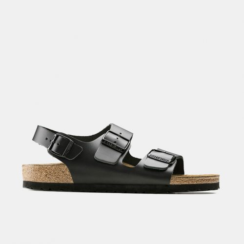 Birkenstock Milano Sandals (Regular) - Black