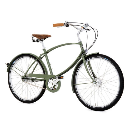Pashley Parabike Hybrid Bike Green