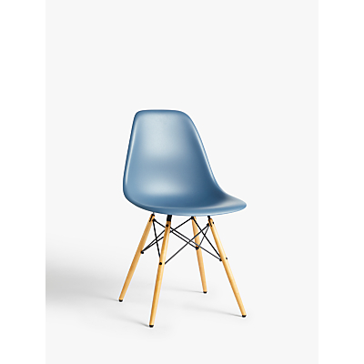 Vitra Eames DSW Side Chair, Light Maple Leg