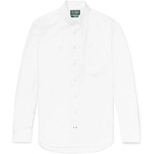 Mens Gitman Vintage Oxford Shirt in White