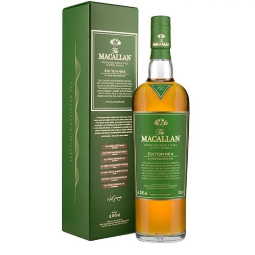Macallan Edition No. 4 Single Malt Scotch Whisky