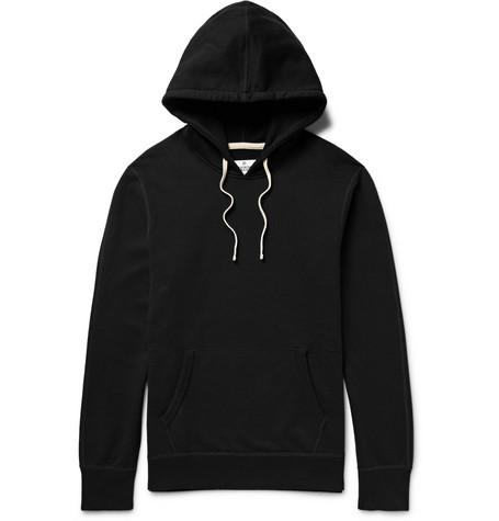 Reigning Champ - Loopback Cotton-jersey Hoodie - Black