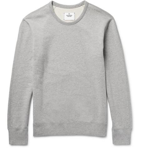Reigning Champ - Loopback Cotton-jersey Sweatshirt - Light gray