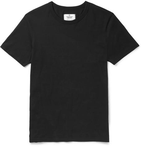 Reigning Champ - Ring-spun Cotton-jersey T-shirt - Black