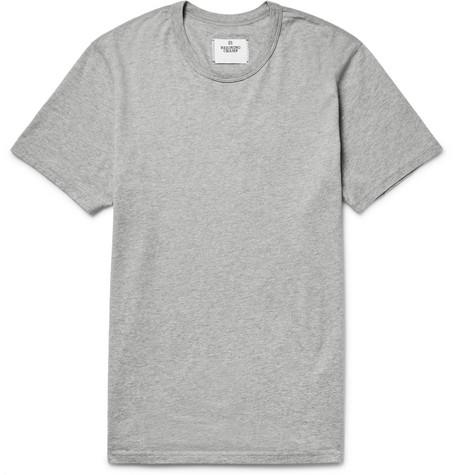 Reigning Champ - Ring-spun Cotton-jersey T-shirt - Light gray