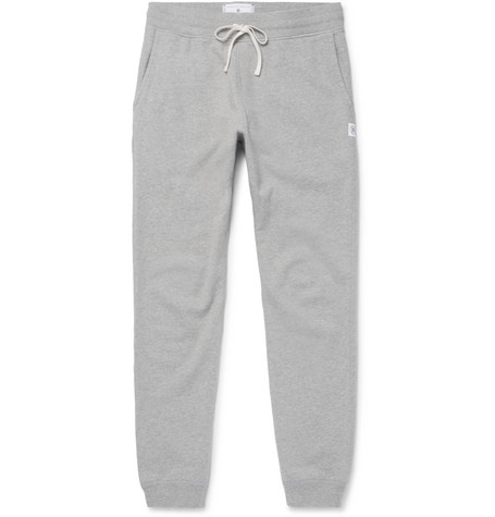 Reigning Champ - Slim-fit Loopback Cotton-jersey Sweatpants - Gray