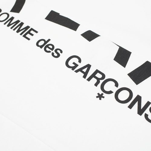 Comme des Garcons Play Long Sleeve Multi Heart &Logo Tee