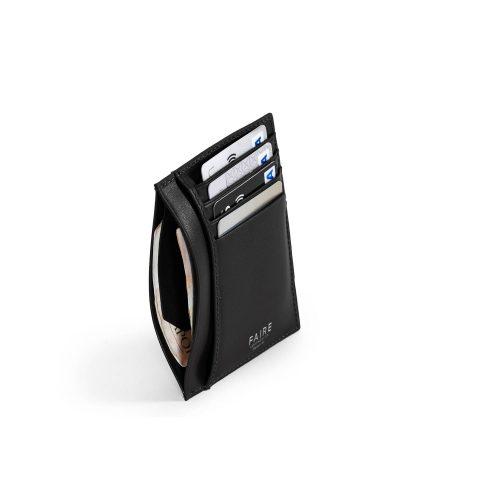 FAIRE LEATHER CO. - Specter Vt Card Wallet Black