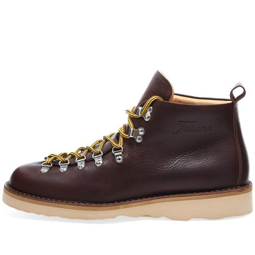 Fracap M120 Natural Vibram Sole Scarponcino Boot dark brown mens