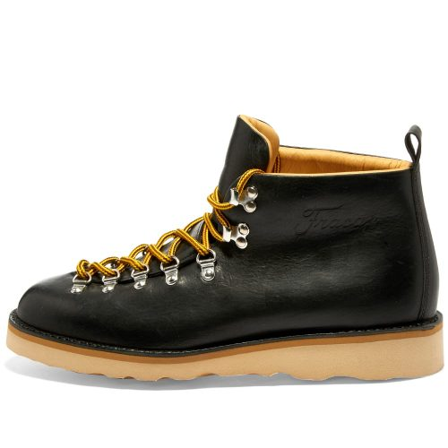 Mens Fracap M120 Vibram Sole Scarponcino Boot in Black