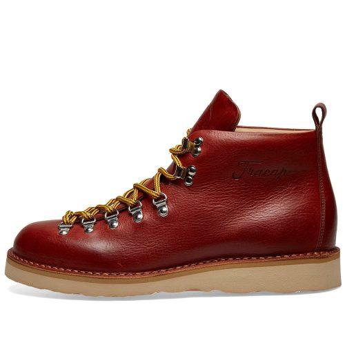 Mens Fracap M120 Natural Vibram Sole Scarponcino Boot in Arabian Brown
