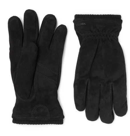 Hestra - Nathan Suede Gloves - Black
